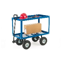 Two Tray Platform Truck