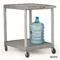 Grey Shelf Trolleys