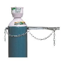 Wall fixing cylinder storage racks