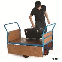 Plywood Decked Balanced Trucks