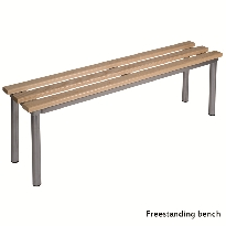 Cloakroom seating benches
