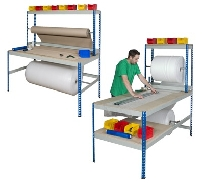 Long and Wide Rivet Packing Workstation
