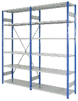 Starter & Extension Shelving Bays
