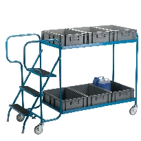 Order Picking Trolley - Container Models