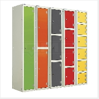 Laminate Splash Lockers