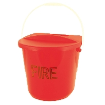 fire Bucket with lid and handle