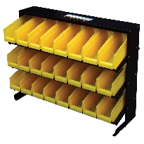 Bin Rack - Yellow