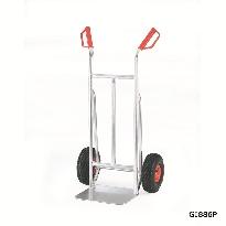 Aluminium Sack Trucks with Red Guards